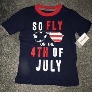 NWT Boys Carter's 2T So Fly 4th of July T Shirt